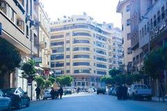 街市的开罗-埃及总督期间 免版税库存照片