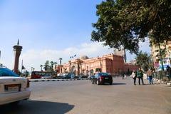 街市的开罗 库存图片