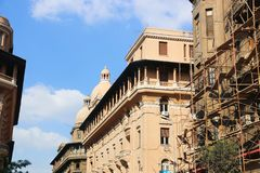 街市的开罗 图库摄影