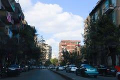 街市的开罗 免版税图库摄影