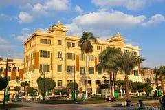 街市的开罗 免版税库存照片