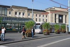 街市的日内瓦 图库摄影