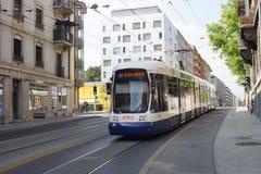 街市的日内瓦 免版税库存图片