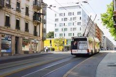 街市的日内瓦 免版税图库摄影