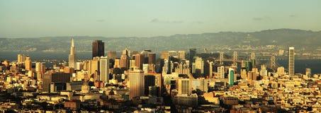 街市的旧金山 库存照片