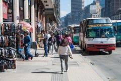街市的波哥大 库存图片