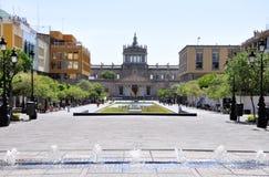 街市的瓜达拉哈拉 免版税库存图片