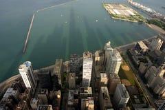 街市的芝加哥 免版税图库摄影