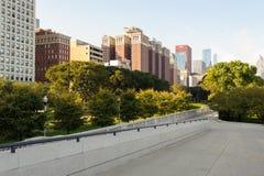 街市的芝加哥 库存图片