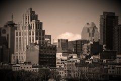 街市的蒙特利尔 免版税库存照片