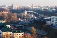 街市的维帖布斯克 免版税库存照片