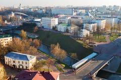 街市的维帖布斯克 库存图片