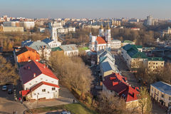 街市的维帖布斯克 免版税库存图片