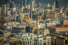 街市的贝鲁特 免版税图库摄影
