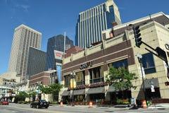 街市米尼亚波尼斯在明尼苏达 库存图片