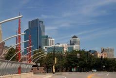 街市米尼亚波尼斯,明尼苏达 免版税库存照片