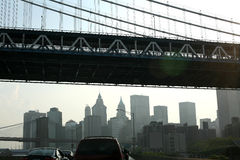 街市纽约 免版税库存图片