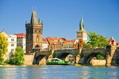 街市老布拉格 免版税库存照片