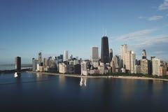 街市芝加哥视图 库存图片