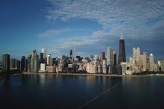 街市芝加哥视图 免版税库存照片