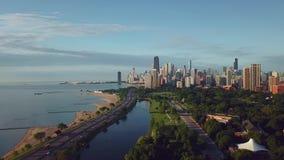 街市芝加哥视图 影视素材