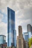 街市芝加哥, IL 免版税库存照片