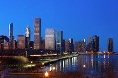 街市芝加哥 免版税图库摄影