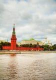 街市莫斯科概览 免版税库存图片