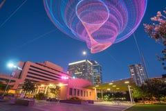 街市菲尼斯亚利桑那财政区地区  免版税图库摄影