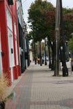 街市街道边路 免版税库存图片