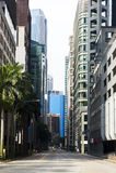 街市街道 图库摄影