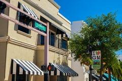 街市西棕榈海滩都市风景 免版税库存图片
