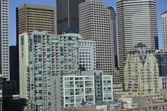 街市西雅图,美国 库存照片