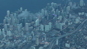 街市迈阿密天线 影视素材
