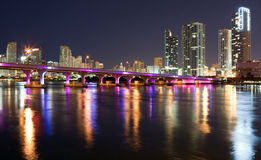 街市迈阿密视图 免版税图库摄影