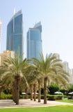 街市迪拜运输路线掌上型计算机 库存照片