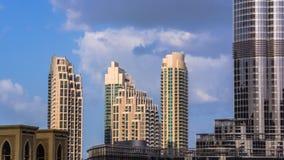 街市迪拜 免版税库存图片