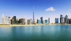 街市迪拜 库存图片