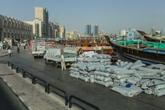 街市迪拜 图库摄影