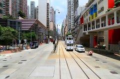 街市香港:北角 免版税库存照片