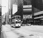 街市香港 库存照片
