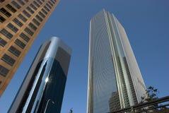 街市洛杉矶摩天大楼-加利福尼亚 免版税库存照片