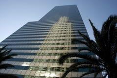 街市洛杉矶摩天大楼-加利福尼亚 免版税图库摄影