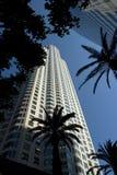 街市洛杉矶摩天大楼-加利福尼亚 库存照片