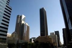 街市洛杉矶摩天大楼-加利福尼亚 库存图片