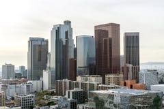 街市洛杉矶摩天大楼 免版税库存照片