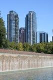 街市Bellevue华盛顿 免版税库存图片