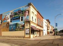 街市Canandaigua 图库摄影