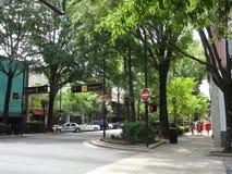 街市Greensville,南卡罗来纳 图库摄影