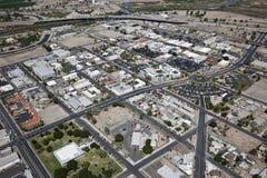 街市Yuma亚利桑那 免版税库存照片